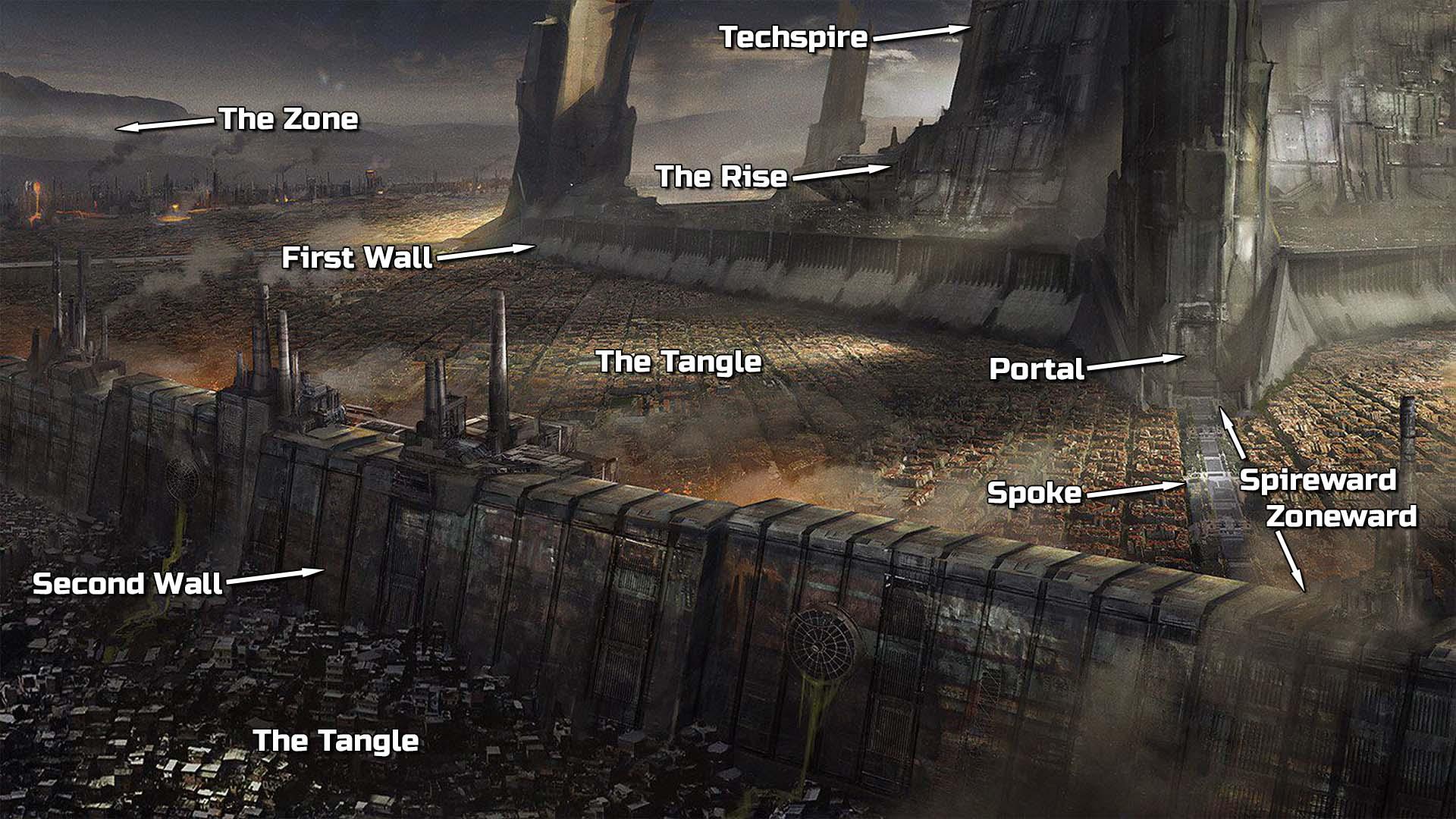 Infinispace Glossary: Terran Techspire