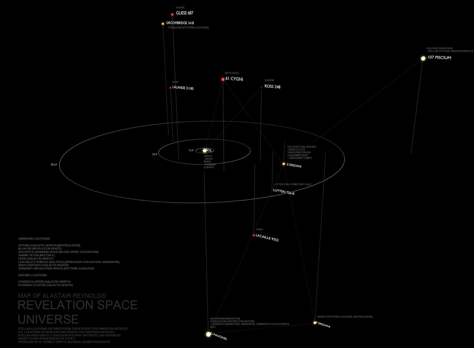 Revelation Space Map