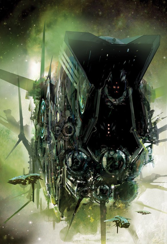Juggler of Worlds by Stephan Martiniere