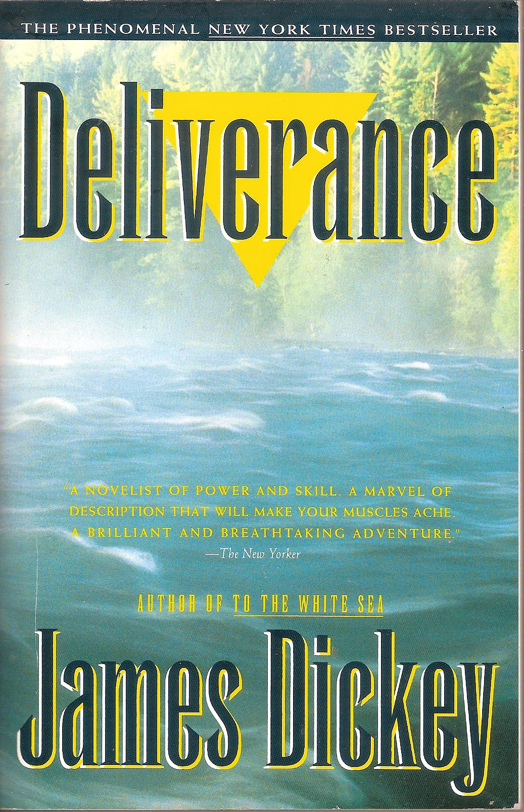 a literary analysis of the passing of the torch in deliverance by james dickey Listen to the talk of the nation discussion a dark grey cell indicates an analysis of survival in deliverance by james dickey the character was not in the.